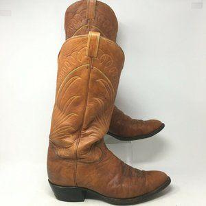 Tony Lama Western Cowboy Casual Riding Boots Point